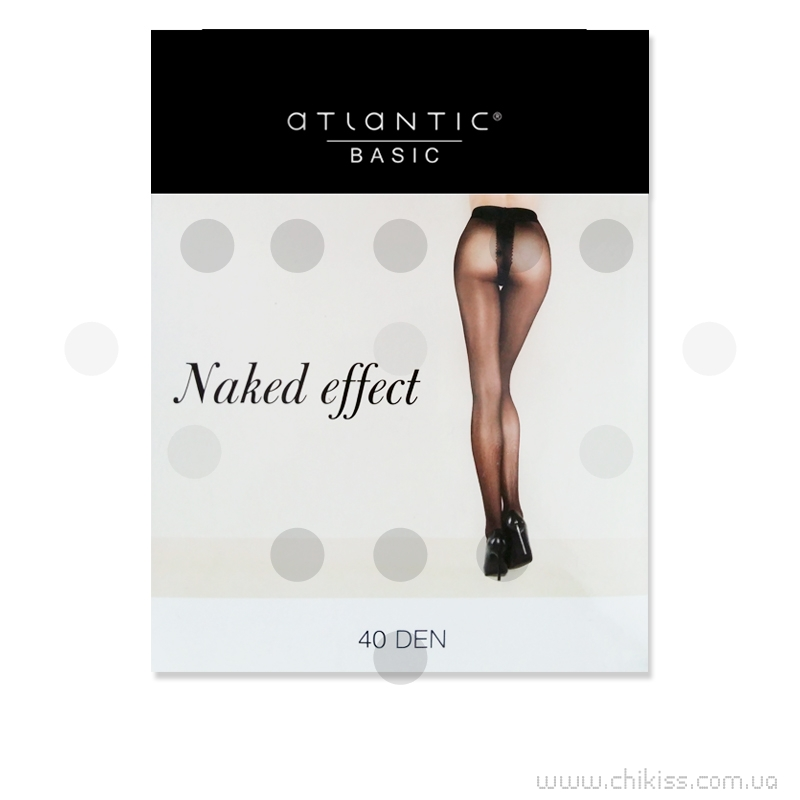 BLT 004 Naked Effect 40 den (BLT 004 Naked Effect плоский шов 40 den GLACE/2)